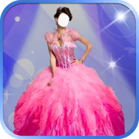 Princess Fashion Dress Montage