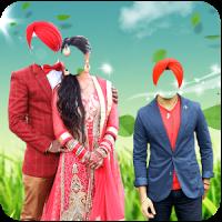 Shikh Couple Photo Suit