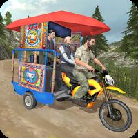 Chingchi Rickshaw Tuk Tuk Sim