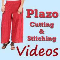 Plazo Dress Cutting Stitching