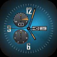 Background Clock Wallpaper