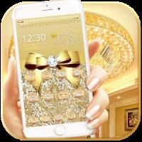 Luxury Gold Bow Diamond Theme