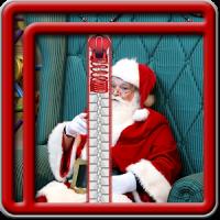 Zipper Lock Screen Santa Claus