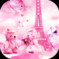 Teddy bear love theme in Paris