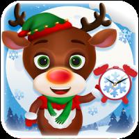 Christmas Reindeer Phone Alarm Clock