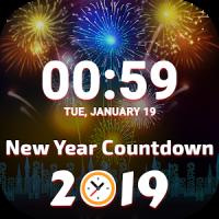 Christmas New Year Countdown 2019