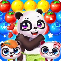 Panda Bubble Rescue Garden