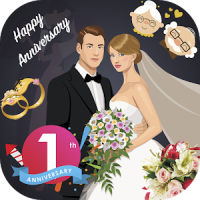 WAStickerApps Anniversary Sticker Pack