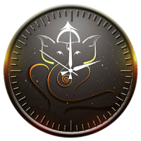 Ganesh Clock Live Wallpaper
