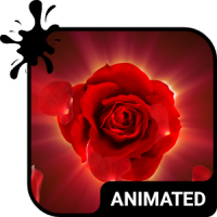Magic Rose Animated Keyboard + Live Wallpaper