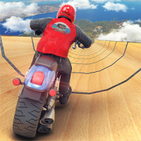 Impossible Ramp Moto Bike Tricky Stunts