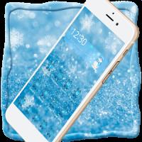 Ice Frozen Snow Xmas Theme
