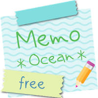 Sticky Memo Notepad *Ocean* Free
