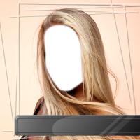 Straight Hairstyle Photo Salon