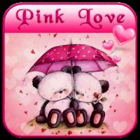 गुलाबी भालू थीम