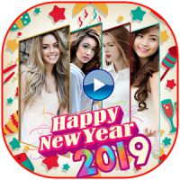 Happy New Year Photo Video Maker 2019
