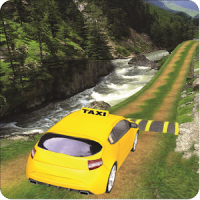 Hill Taxi Simulator Games 2018