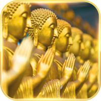 God Theme Buddha golden