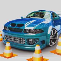 Car Parking Sea Port Zone 3D