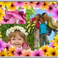 Spring Photo Collage Maker