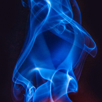 blue flame live wallpaper