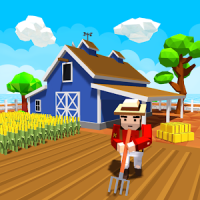 Blocky Farm Worker Simulator