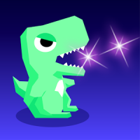 Tap Tap Dino : Grow my dino ( Idle & Clicker RPG )