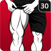 Leg Workout for Men - Thigh, Muscle Fitness 30 Day