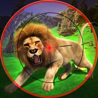 Lion Sniper Hunting Game