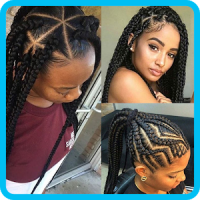 African Woman Hairstyle