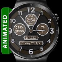 Brushed Wood HD Watch Face Widget & Live Wallpaper