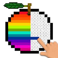 Pixel Art Coloring Book