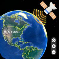 España Mapa de la Tierra en Vivo - Vista Satelital