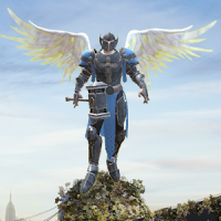 Crime Angel Superhero