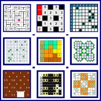 Sudoku Family(Sudoku - Kakuro - Akari - Futoshiki)