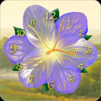 फूल घड़ी लाइव वॉलपेपर