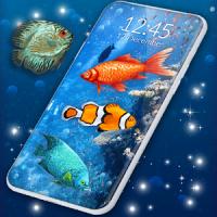 Fish Swim Live Wallpaper 3D Wallpaper Themes