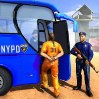 Offroad US Police Bus Prisoner Transport Game
