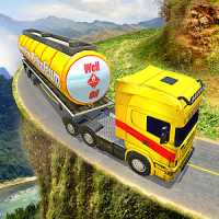 Offroad Oil Tanker Truck Transport Driver