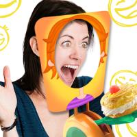 Cake on face antistress Prank