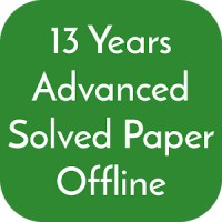 13 Years JEE Advanced Solved Papers Offline