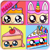 How To Draw Cute Cakes
