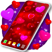 Love Live Wallpaper ❤️ 3D Hearts Free
