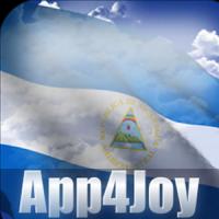 3D Nicaragua Flag Live Wallpaper