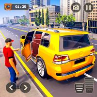 Prado Taxi Car Driving Simulator : Taxi simulator