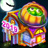 Halloween Cafe Shop