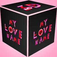 3D Mi Nombre Amor Wallpaper