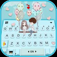 Sweet Couple Love 2 Tema de teclado