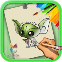How to Draw Little Yoda Cute