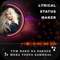 My Photo Lyrical Status Maker - Particle Wave Beat